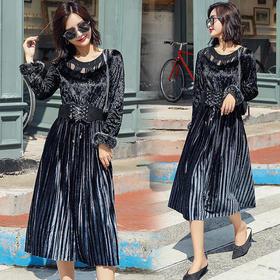 AN1893YJLY休闲时尚气质连衣裙