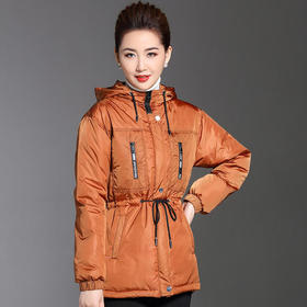 CQ1793HXGLR休闲时尚纯色气质棉衣棉服