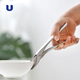 半岛优品 | 德国Daeden 戴德不锈钢防烫碗碟夹子 防滑提盘夹厨房小工具取碗取盘