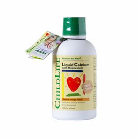 【海外直邮】美国童年时光Childlife 钙镁锌液体钙