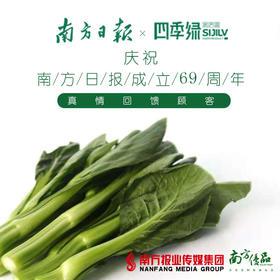 【清甜爽脆】四季绿 宁夏菜心 约1斤