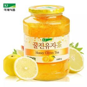 KJ蜂蜜柚子茶1000g 韩国原装进口 国际水果茶冲调饮料