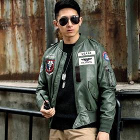 【CAP印象皮夹克】美国民间空中巡逻队飞行服