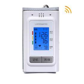 蓝韵(LANDWIND) 手臂式全自动电子血压计BP392A 老人家用语音播报血压测量仪 背光亮屏