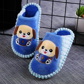 儿童棉拖鞋冬季室内可爱卡通软底防滑保暖舒适男童女童宝宝棉拖鞋