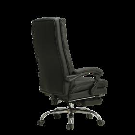 【黑白调】HDNY112BPJ  头层牛皮 老板椅 办公座椅
