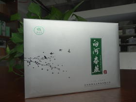 2019年新茶陕西特产白河春燕舞龙尖茶(银色礼盒204g)