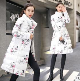 2018年冬季时尚百搭舒适长袖加厚保暖棉服CQ-TLZY1803