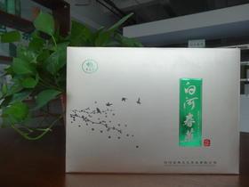 2019年新茶陕西特产白河春燕舞龙尖茶(金色礼盒204g)