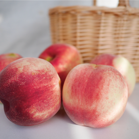 [冬雪蜜桃 预计11月17日开始陆续发货]硬桃 浓郁桃香满唇齿 4.6斤装 顺丰包邮