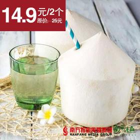 【清甜解渴】泰国椰青 2个 约2斤/个