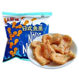 上好佳薯片鲜虾片洋葱圈膨化食品休闲零食小吃/20袋
