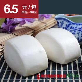 【松软喷香】白云峻城 奶香馒头  12个/包  330g/包