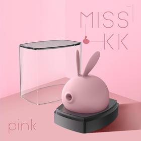 Kiss Toy MISS KK萌兔子女用吮吸阴蒂自慰器震动棒电动舌头情趣性用品