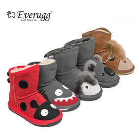 EVERUGG儿童动物雪地靴