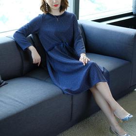 【清仓特价 不退不换】JS6275JS宽松舒适针织连衣裙TZF