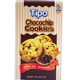 越南进口黄油曲奇tipo饼干巧克力零食早餐糕点小吃 75g