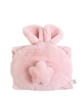 南极人充电热水袋防爆暖手宝注水暖水袋毛绒卡通兔子暖宝宝电暖宝