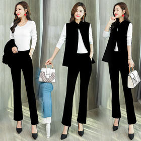 时尚舒适修身显瘦休闲潮流优雅简约三件套 CS-HMQY18807