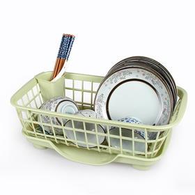 多功能厨房沥水碗架碗柜 塑料碗碟盘子餐具滴水置物架杯架晾碗架-863474