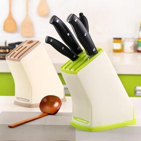 家用多功能塑料菜刀架刀具架厨房刀具收纳架插刀置物架刀座刀架子-863524