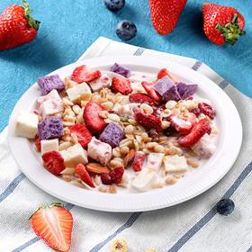 欧扎克酸奶果粒麦片 | 超大块的酸奶块配上麦香和果干 酸甜酥脆  泡着吃 干着吃 嚼着吃都ok