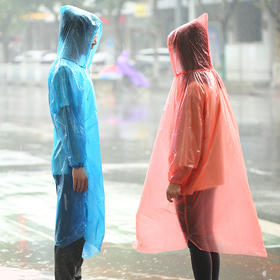 加厚便携户外一次性雨衣 成人旅游旅行雨衣套登山漂流男女雨披-863500