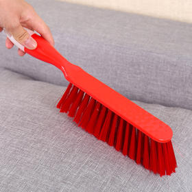 家用软毛扫床刷 防静电塑料除尘刷长柄床单沙发衣帽掸尘刷-863646