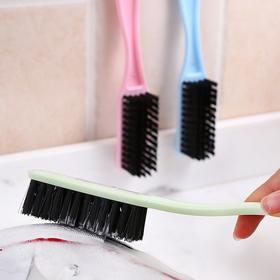 多功能塑料长柄鞋刷可挂式软毛刷洗衣刷去污洗鞋刷子清洁刷-863650
