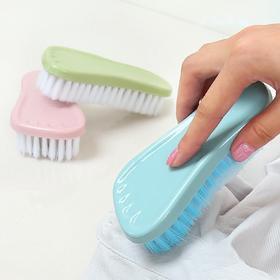 家用软毛洗衣刷清洁刷塑料多功能去污洗鞋刷可爱板刷衣服刷小刷子-863638