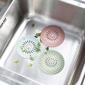 创意家居浴室地漏 厨房水槽过滤网 吸盘式排水口毛发滤网-863607