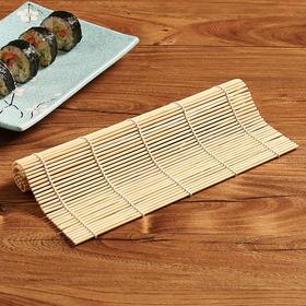 竹制做寿司工具寿司模寿司卷帘紫菜包饭竹帘手卷寿司模具寿司帘子-863549