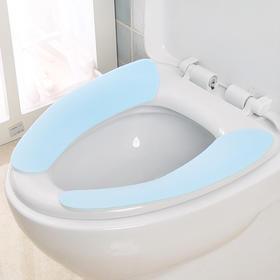 马桶垫粘贴式 家用四季防水马桶贴 卫生间可水洗马桶坐垫-863964