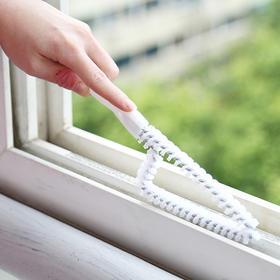 多用途窗户窗槽刷清洁工具缝隙刷 厨房煤气灶台洗漱台凹槽去污刷-863642