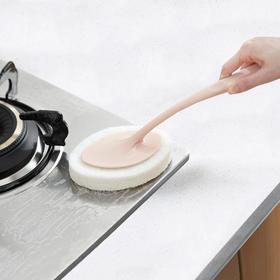 卫生间瓷砖刷浴缸刷厨房去污渍清洁用品百洁布擦锅洗锅海绵清洁擦-863648