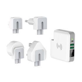 【超级3合1】无线充+多口充电宝+座充电源器
