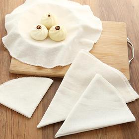 圆形纯棉纱布 不粘笼屉布蒸布蒸饺布透气蒸馒头垫纱布-863543