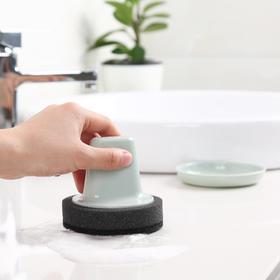 洗锅刷海绵魔力擦厨房清洁用品双层托盘水槽灶台清洁擦去污渍神器-863659