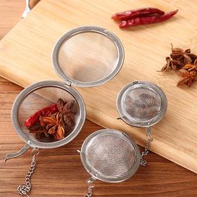 多功能不锈钢调味球 健康环保固体香料残渣过滤器味宝-863540