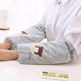 秋冬潮版长款袖套男女成人家务清洁衣服袖头办公学习学生袖筒护袖-863624