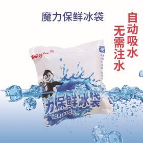 魔力科技航空保鲜冰袋食品水果海鲜冷藏冰袋自动吸水空运干冰包-863976