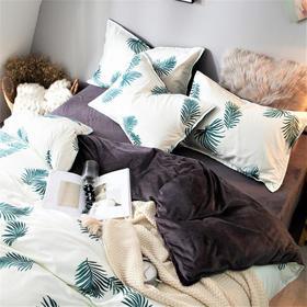 Boomer Home魔法美肤四件套 AB两面睡:纯棉+魔法绒 补水保湿 发热保暖 助眠抗衰 抗螨抑菌