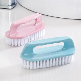 塑料软毛小刷子洗衣刷家用多功能家务清洁刷衣服刷板刷鞋刷子衣刷-863641