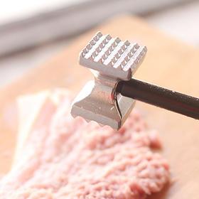双面家用松肉锤 铝合金肉锤 家用牛排捶 厨房工具敲肉锤-863552