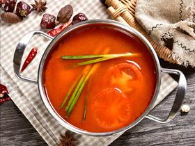 美味健康番茄锅