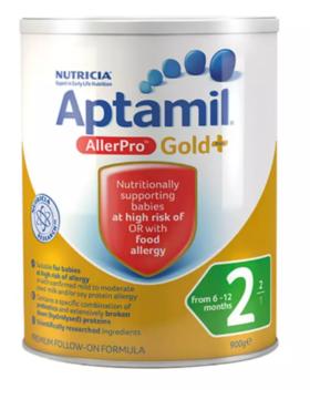 Aptamil澳洲 爱他美深度水解AllerPro二段6-12个月