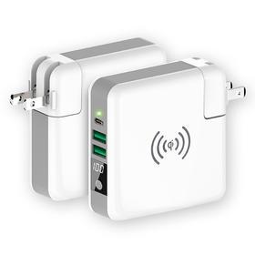 Koo-Power电源器 移动电源 智能充电器+多口充电宝+无线充    三合一