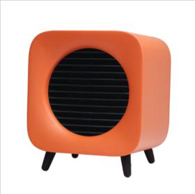 【复古范 迷你暖风机】家用桌面取暖器两档温控断电保护可定时可拆洗