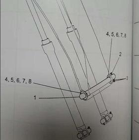 【订货运费到付】大臂根部销子/衬套 SK200/210-8-10