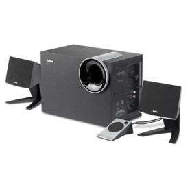 漫步者(EDIFIER) R201T北美 2.1声道 多媒体音箱 音响 电脑音箱